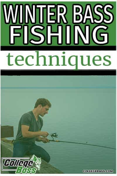 winter bass fishing techniques