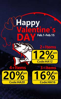 Valentine's Day Deal 20% OFF on Piscifun.com