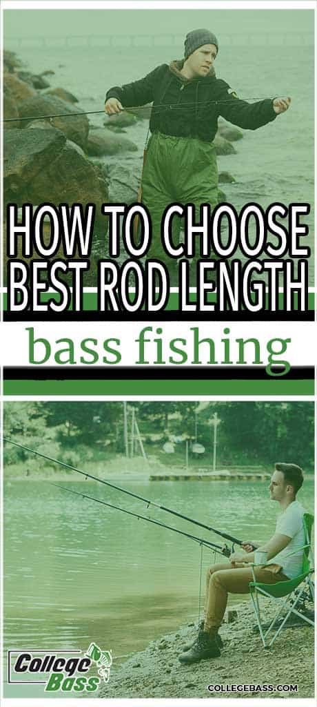 how to choose best rod length bass fishing