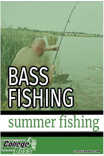 bass fishing summer fishing
