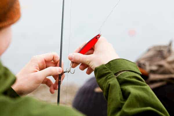 what size test line for bass fishing